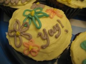 Yay cupcakes!