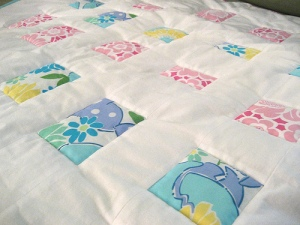 Fluffy Baby Quilt